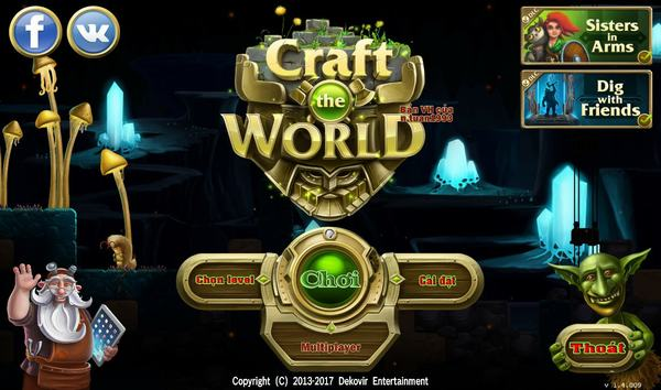 [PC] Tải miễn phí game Craft The World link Fshare